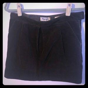 Madewell corduroy skirt 28